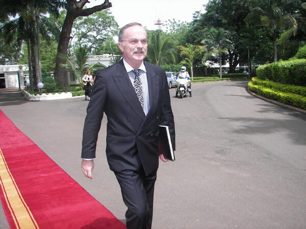 Karl Flittner, ancien ambassadeur d'Allemagne à Bamako.