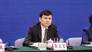 中国上海复旦大学附属华山医院感染科主任张文宏资料图片