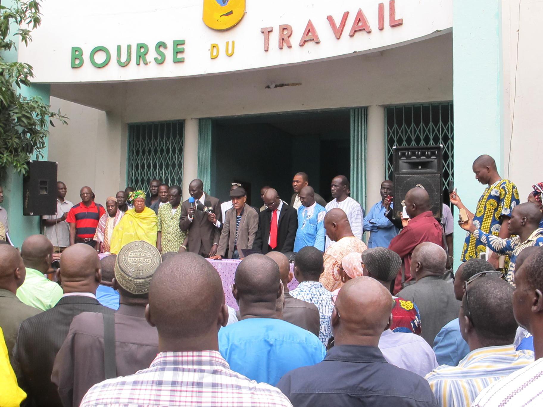 La centrale syndicat UNTM appelle à une grève générale au Mali jeudi 21 et vendredi 22 août.