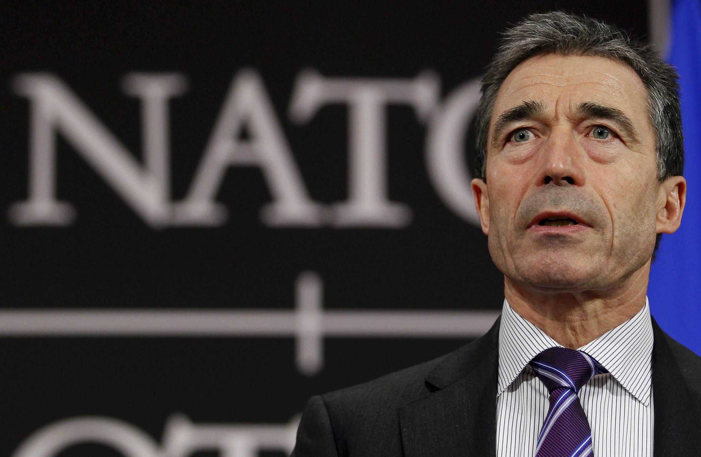 LKatibu mkuu wa NATO, Anders Fogh Rasmussen.