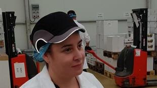Marie Crottereau, centre de conditionnement de Mâtines à Tremorel.