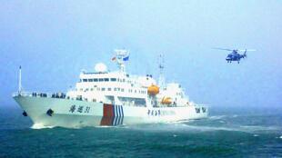 Tàu tuần hải 31 của Trung Quốc ở Biển Đông (DR)