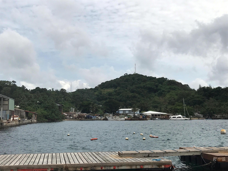 Cảnh Koror trên đảo Palau. Ảnh 05/08/2018.