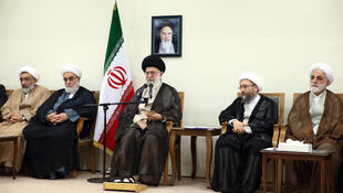 دیدار رهبر جمهوری اسلامی ایران، با رئیس و مسئولان قوۀ قضاییه این کشور