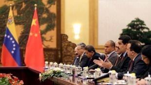 委内瑞拉总统马杜罗访问中国
