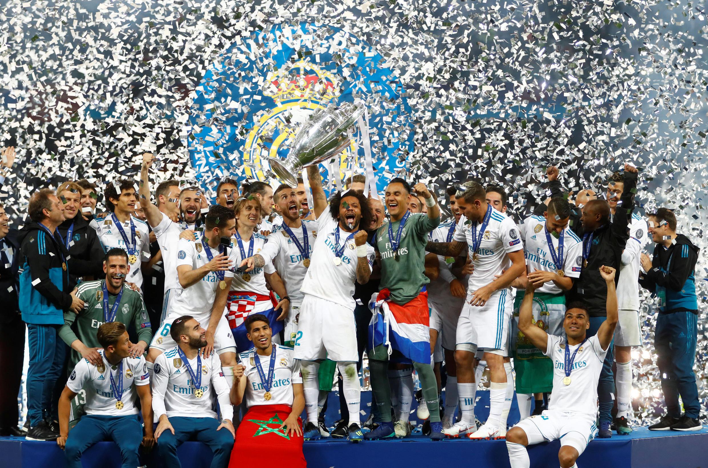 Treizième Ligue des champions pour le real Madrid à Kiev le 26 mai 2018.