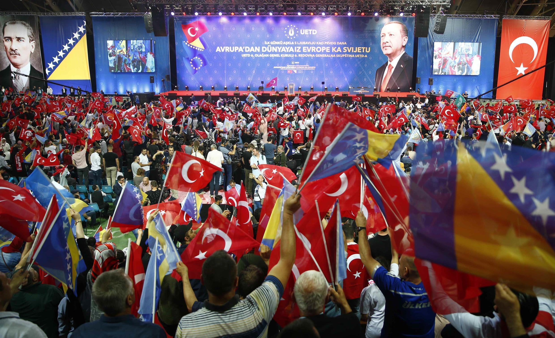 میتینگ اردوغان در سارایوو