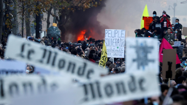 Manifestation Paris Loi Sécurité globale