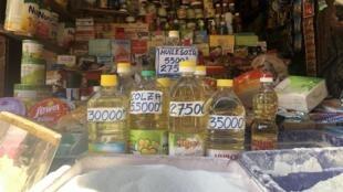 Les produits de première nécessité comme l'huile, le riz et le sucre, connaissent une forte hausse depuis la semaine dernière (image d'illustration).