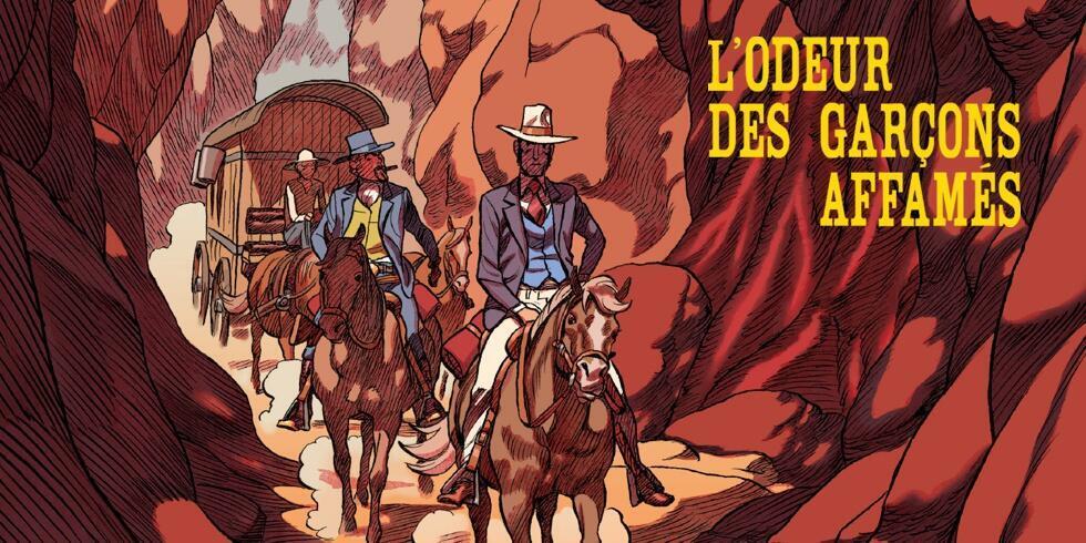 Détail de la couverture de la bande dessinée «L'odeur des garçons affamés», de Loo Huy Phang et Frédérik Peeters.