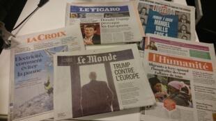 Diários franceses 17.01.2017