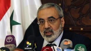 Ministro da Informação da Síria, Omran al-Zohbi, ameaçou Israel.