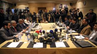 Nouvelles négociations à Amman, en Jordanie, le 5 février 2019, pour discuter d'un accord d'échange de prisonniers au Yémen.