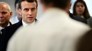 លោកប្រមុខរដ្ឋបារាំង អេម៉ានុយអែល ម៉ាក្រុង Emmanuel Macron