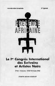 Actes du Premier congrès des intellectuels noirs de 1956
