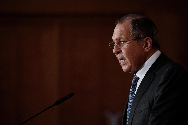 Ngoại trưởng Nga Sergueï Lavrov, ngày 13/07/2017.