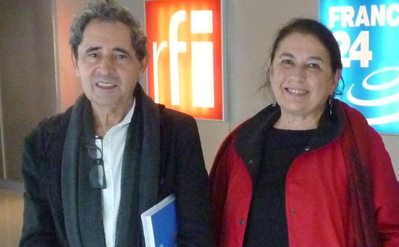 Carmen Bustamante y Domingo García Cañedo en RFI