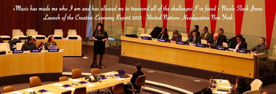 Nicole Slack Jones à l'ONU le 5 décembre 2013.