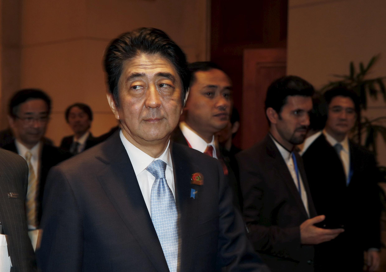 O primeiro-ministro japonês, Shinzo Abe.