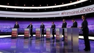 دور اول مناظره هفت کاندیدای جناح چپ میانه را حدود سه میلیون و هشتصد هزار نفر در تلویزیون تماشا کردند.