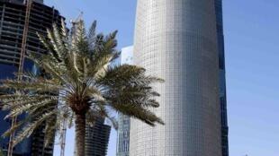 Tour située à Doha, au Qatar, imaginée par l'architecte français Jean Nouvel