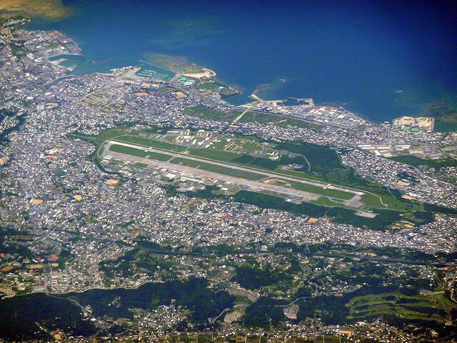 Căn cứ hải quân Futenma của Hoa Kỳ thuộc tỉnh Okinawa, Nhật Bản.