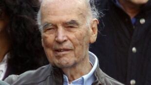 O criminoso nazista Erich Priebke morto no dia 11 de outubro aos 100 anos, em Roma.