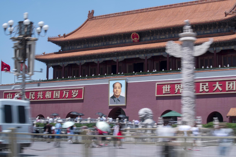 Quảng trường Thiên An Môn, nơi tọa lạc Tử Cấm Thành và lăng của Mao Trạch Đông.