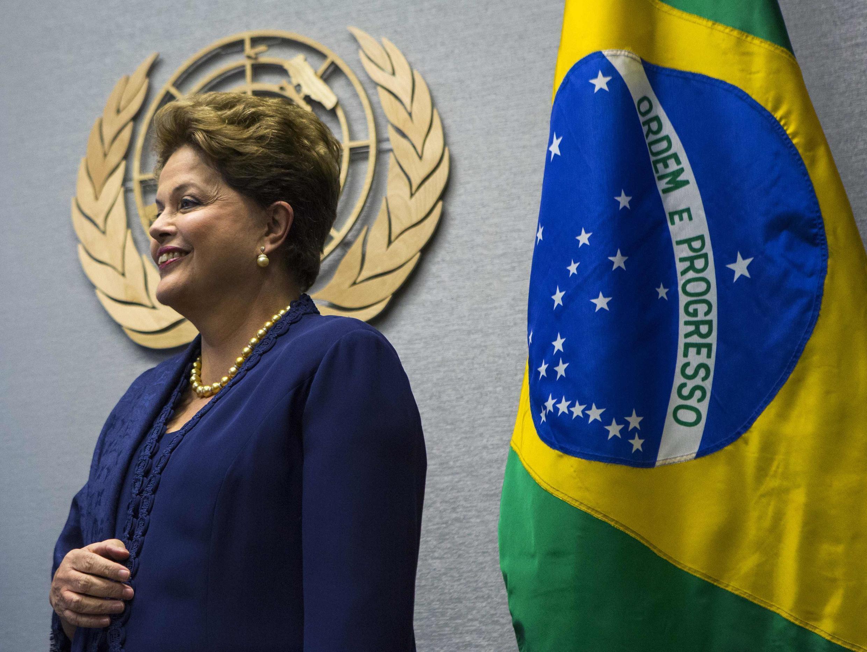 Dilma Rousseff foi a primeira chefe de Estado a discursar na Assembleia-geral da ONU.