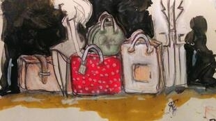 Dans la valise des Parisiens.