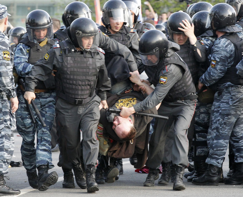 Задержания в Москве 6 мая 2012.