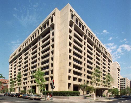Sede do FMI em Washington.