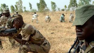 Des soldats nigériens s'entrainent à Maradi (photo d'illustration).