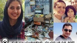 بهائیان دستگیر شده در ایران در روزهای شنبه و یکشنبه ٢٤ و ٢۵ شهریور ١٣٩٧ و تصویری از منزل یکی از آنان پس از تفتیش ماموران وزارت اطلاعات