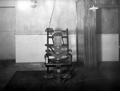 A primeira cadeira elétrica foi utilizada em 1890 nos Estados Unidos