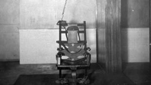 La première chaise électrique, utilisée pour l'execution de William Kemmler, condamné à la peine de mort en 1890 aux Etats-Unis. (Photo d'illustration)