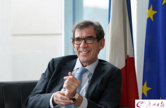 法国驻中国大使黎想谈中法多方面合作进展