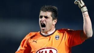 Le gardien de but de Bordeaux, Cédric Carasso.
