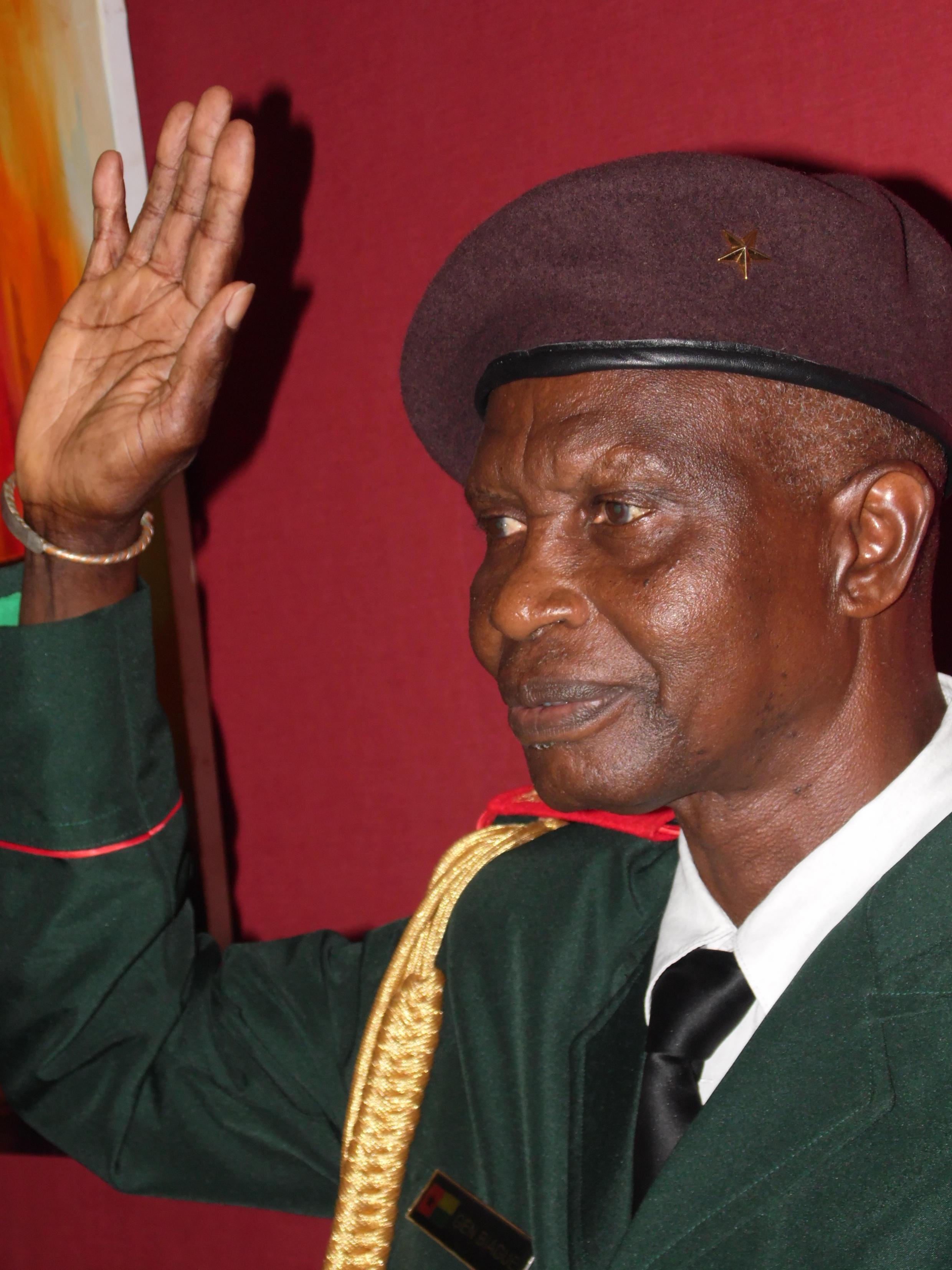 Tenente general Biaguê Na N'tan, Chefe de Estado Maior General das Forças Armadas da Guiné-Bissau.