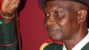 General Biaguê Na N'tan, Chefe de Estado Maior General das Forças Armadas da Guiné-Bissau.