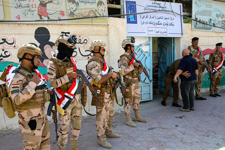 irak sécurité élection bassora