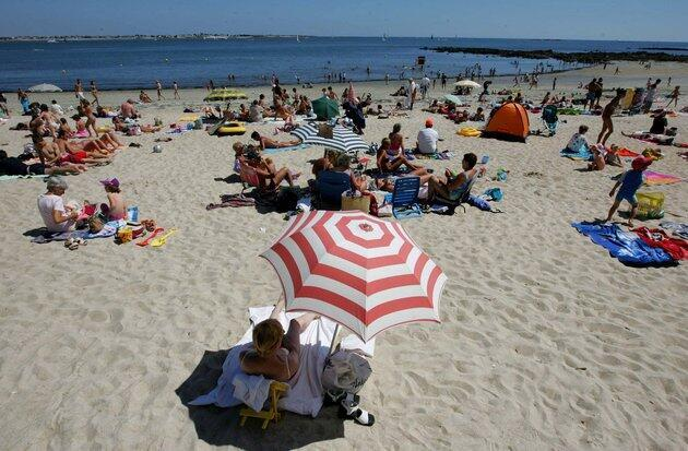 Holiday makers have been urged to be careful near the beach.