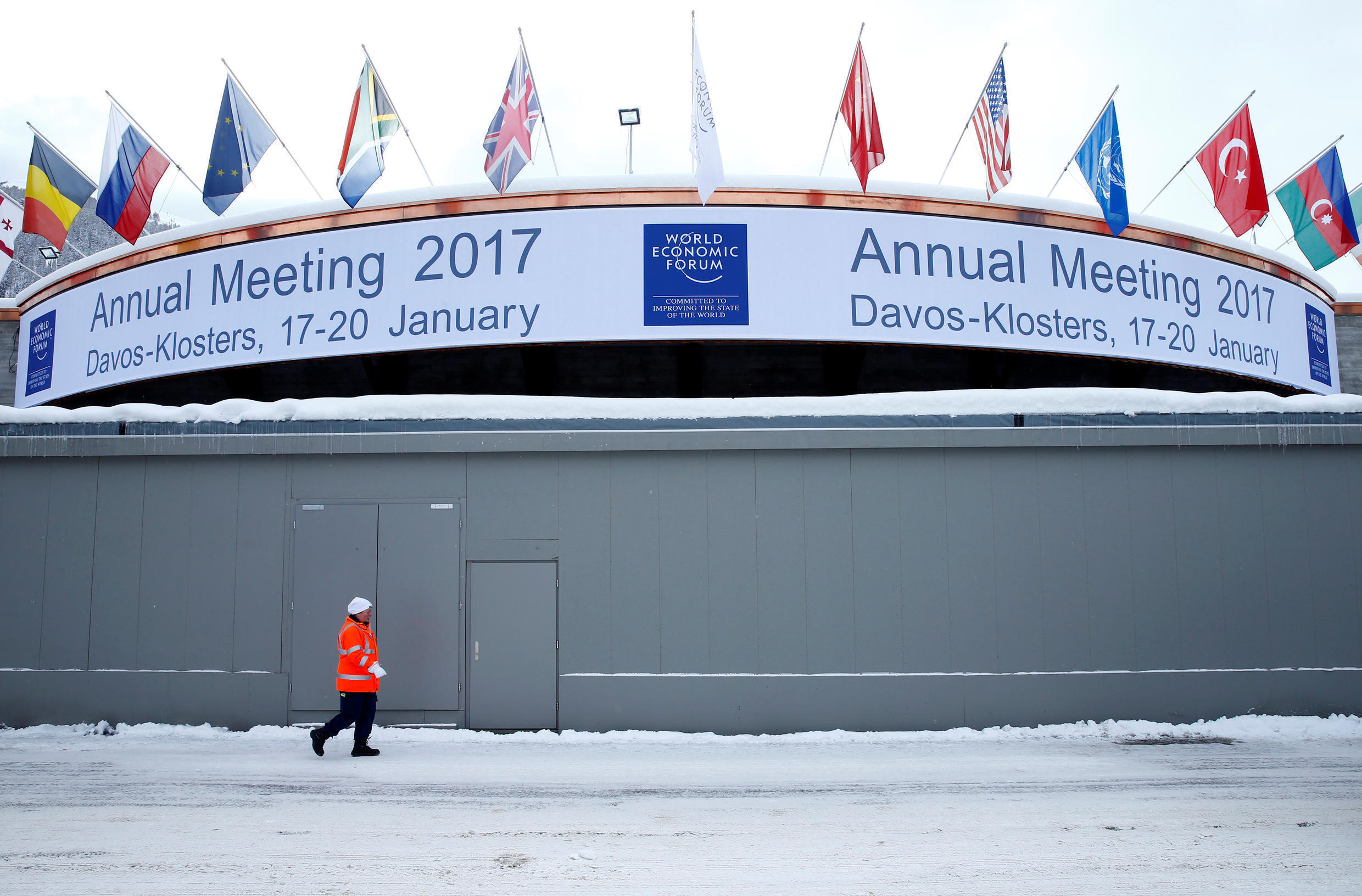The 47th edition of the World Economic Forum summit of more than 3,000 political and economic leaders takes place in Davos, Switzerland from 17 to 20 January.