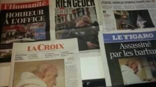 Primeiras páginas dos jornais franceses de 27 de julho de 2016