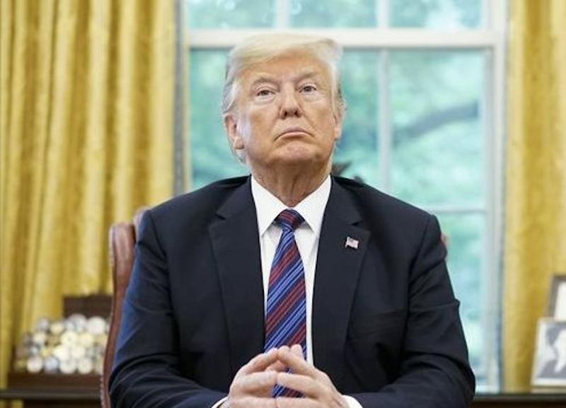 Trump retranché.