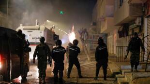 Tunis tunisie violences