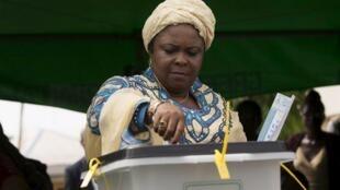 Patience, Uwargidan Shugaban Najeriya mai barin gado Goodluck Jonathan.