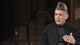 Hamid Karzai in Germany earlier this year