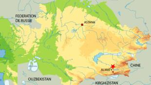 Le Kazakhstan.