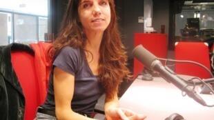 Marina Cedro en RFI.